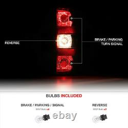 For 07-13 Chevrolet Silverado FACTORY REPLACEMENT Brake Tail Light Assembly