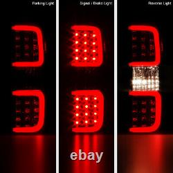 For 09-14 Ford F150 Cyclop OpTiC TuBe Smoke LED Tail Lights Rear Parking SET