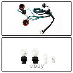 For 10-12 Nissan Sentra Red Chrome Rear Tail Light Brake Signal Lamp Assembly