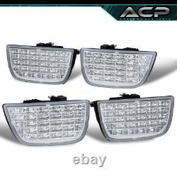 For 10-13 Camaro 4Pcs Replacement LED Brake Stop Tail Lights Turn Lamps Pair Clr