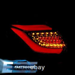 For 12-14 Focus Hatch Replacement Driving Brake LED Tail Lights Lamps Red Smoked