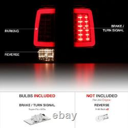 For 13-18 Dodge RAM 1500 2500 3500 FACTORY RED OLED Tube Brake Lamp Tail Light