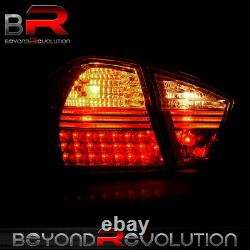 For 2006-2008 BMW E90 328 335i 4DR Replacement LED Tail Lights Brake Lamps Smoke