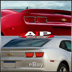 For 2010-2013 Chevy Camaro Sequential Signal Full LED Tail Lights All Red Lens