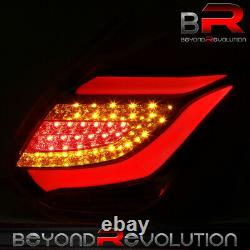 For 2012-2014 Focus Upgrade LED Brake Tail Lights Stop Lamps Assembly Black Red