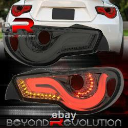 For 2013-2020 Subaru BRZ 86 FR-S VIP LED Brake Tail Lights Lamps Assembly Smoked