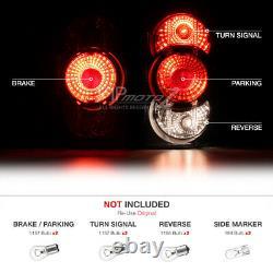 For 90-98 Jeep Grand Cherokee Orvis/Tsi/SE Left+Right Black Altezza Tail Light
