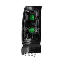 For 94-01 Dodge RAM PickUp Darkest SMOKE LED Neon Tube Rear Tail Singal Light
