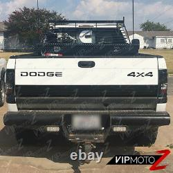 For 94-01 Dodge Ram Truck 1500 2500 3500 Black Housing LED Tail Light Brake Lamp