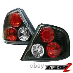 For Altima 98-01 Blk Left+Right JDM Altezza Taillight Brake Signal Lamp Assembly