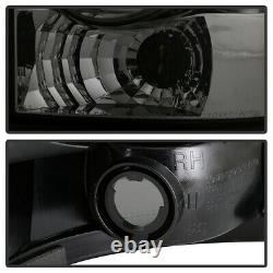For Dodge Chrysler Caravan Durango Town&Country Smoke Tail Light Rear Brake Pair