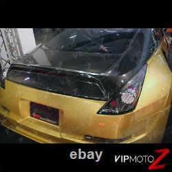 For FairLady 350z 2003-05 Z33 JDM Black LED Taillight Brake Signal Lamp Assembly