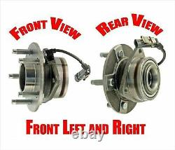 For GMC Equinox 05-06 (2) Front Wheel Hub Bearing Assembly With Anti Lock Brakes