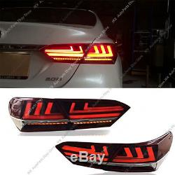 For Toayota Camry 2018 2020 LED Tail Lights Brake Turn signal Lamps Kit Assembly