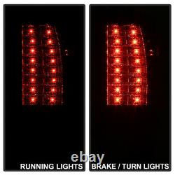 Ford 97-02 Expedition G2 LED SMOKE & CHROME Tail Light Rear Brake Lamp LH RH