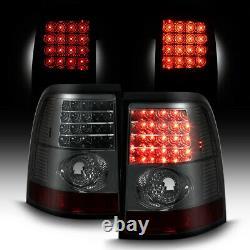 Ford Explorer 4DR 02 03 04 05 SMOKE LED Tail Lights Rear Brake Lamp Pair LH RH