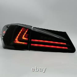 Free Shipping to PR for 06-13 IS250/350 08-14ISF AMBER Headlight+SMOKE Taillight