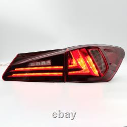 Free Shipping to PR for 06-13 Lexus IS250/350 08-14 ISF Red Clear LED Tail Light