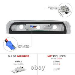 Halo LED Projector Headlights Taillights Assembly Roof Brake 02-05 Ram PowerTech