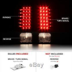Hummer H3 06-10 New Chrome LED Tail Light Brake Signal Lamp Left+Right Assembly