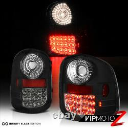 Infinity Black LED Brake Signal Tail Lamp 97-05 Ford F150 Step/FlareSide Bed