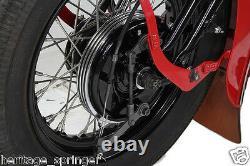 Knucklehead Springer Dual Cam Brake Assembly BLACK NEW