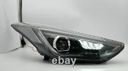 LED Headlights+SMOKE Taillights+H7 LED Bulbs for Elantra 11-16 Sedan 13-14 Coupe