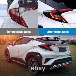 LED Rear Tail Light Lamp Brake Reversing Turn Assembly For Toyota CHR 2017-2019