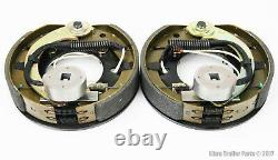 LIBRA 7 X 1-1/4 Trailer Electric Brake Assembly (1 Right + 1 Left) 21001