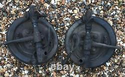 MGA 1500 front suspension hubs, stubs / brake assemblies used -as photos