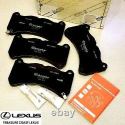 New Oem Lexus Is F 2008-2014 Factory Replacement Brembo Front Brake Pad Assembly