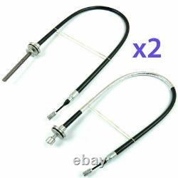 RENAULT LAGUNA 3 MK3 2007-2015 Electric Handbrake Parking Cable LEFT + RIGHT x 2