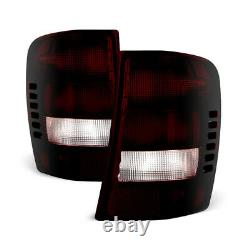 ROSSO RED SMOKE For 99-04 Jeep Grand Cherokee FACTORY STYLE Tail Lights Lamp