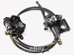 Rear Hand Brake Assembly Master Cylinder Caliper 50cc 90 110 125cc ATV Quad