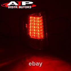 Red LED Brake Stop Tail Lights Lamps Left+Right Set For Chevy S10 / GMC Sonoma