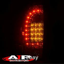 Red Lens LED Brake Stop Tail Lights Lamps Left+Right For 2005-2015 Toyota Tacoma