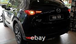 Red Lens Sequential Full LED Bumper Reflector Light Kit For 2017-up Mazda CX-5