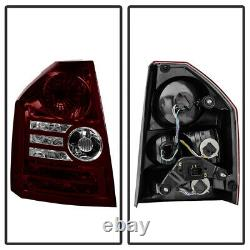 Rosso RED SMOKE For 08-10 Chrysler 300C SRT8 Factory Style Tail Light Lamp