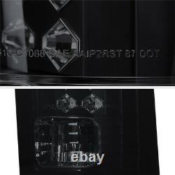 SINISTER BLACK SMOKE LED Brake Tail Light For 88-99 Chevy GMC C10 C/K Truck