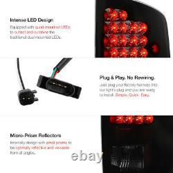 SINISTER BLACK SMOKE LED Tail Light Lamp For 2007-2008 Dodge Ram 1500 2500 3500