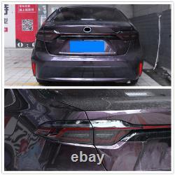 Smoke LED Tail Lights For Toyota Corolla 2020 Reverse Brake Rear Lamps Assembly