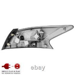 Smoke Lens Tail Light Brake Signal Lamp Replacement For 2013-2015 Nissan Altima