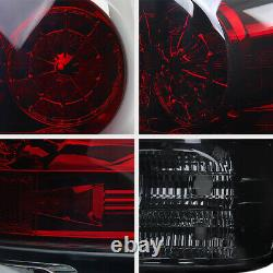 Smoke+Red Rear Brake Assembly LED SMD Signal Tail Light For Toyota Tundra 07-13