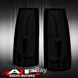 Smoked LED Brake Stop Tail Lights Assembly For 1994-1998 C/K Suburban Tahoe C10