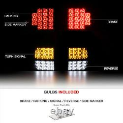 TRD STYLE FULL LED Rear SMD Brake Tail Lights For 07-13 Toyota Tundra PickUp