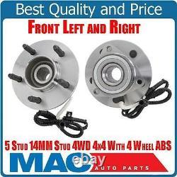 Wheel Bearing Hub Assembly 2 Frt 515029 Fits 00-03 F150 4x4 4 Wheel ABS Brakes