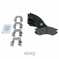 Wheel Bearing with Ceramic Brake Pad & Rotor Front Kit for Saturn SC SL SW